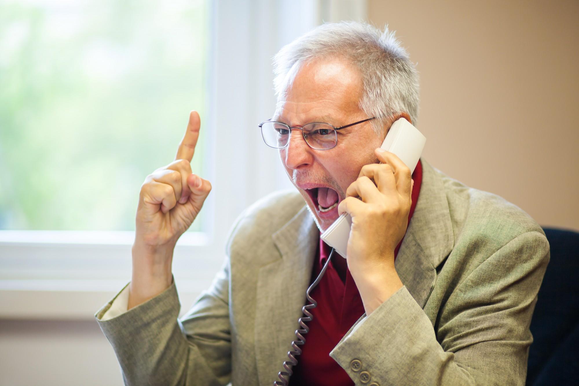 חוסר שיתוף פעולה בסקר טלפוני. רק אחד לשבעה אנשים מסכים לא לנתק!